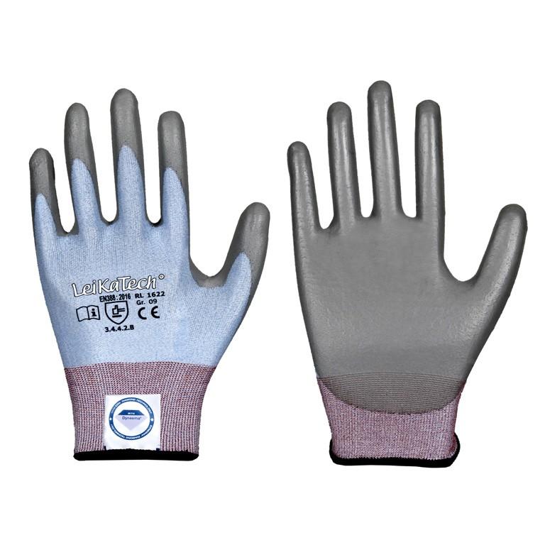 Schnittschutz Handschuh mit PU Beschichtung