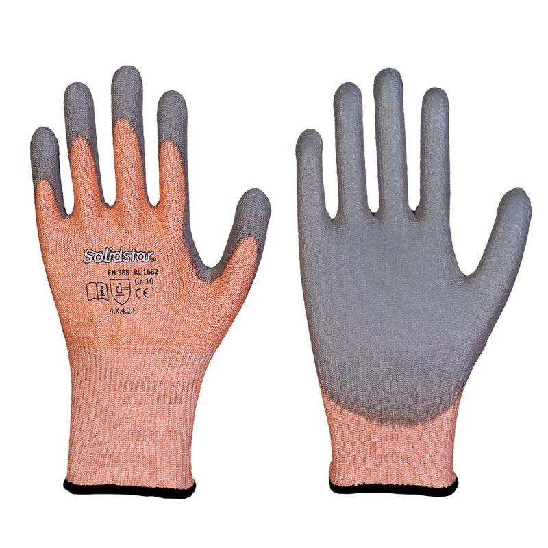 Schnittschutzlevel F Handschuh Solidstar