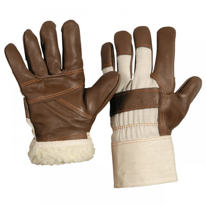 Winterhandschuh Polsterleder