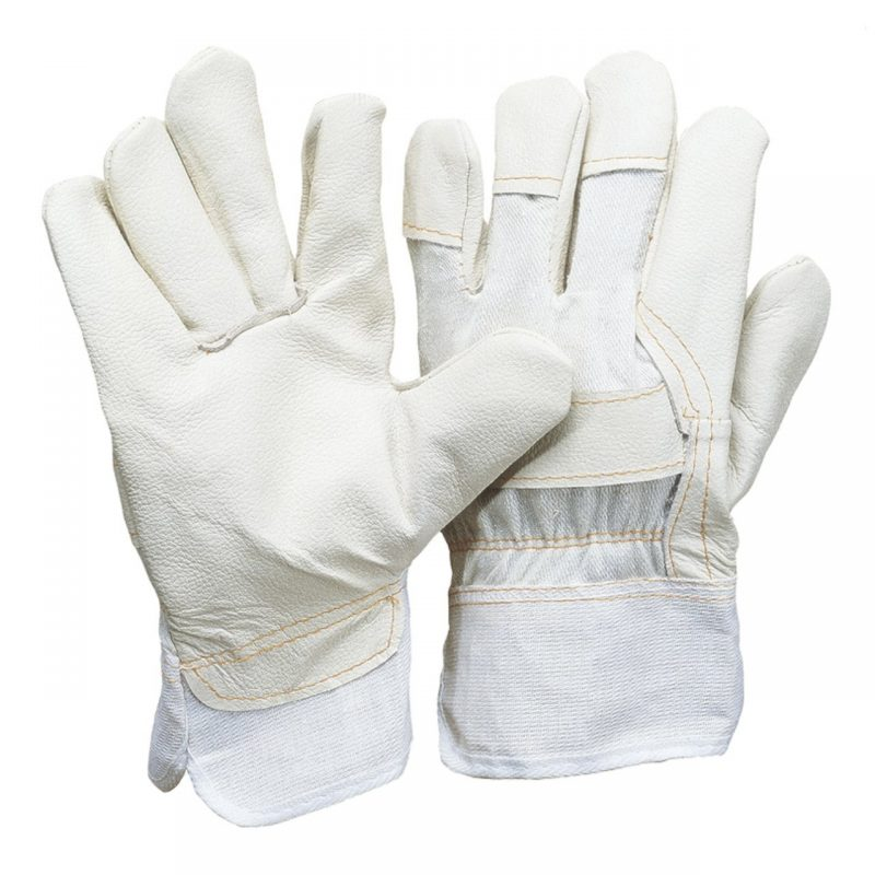 Polster Möbelleder Handschuh nur hell