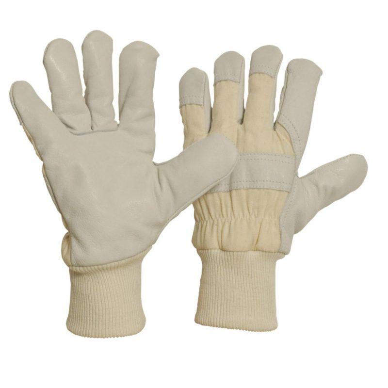 Rindnarbenleder Handschuh mit Thinsulate-Futter