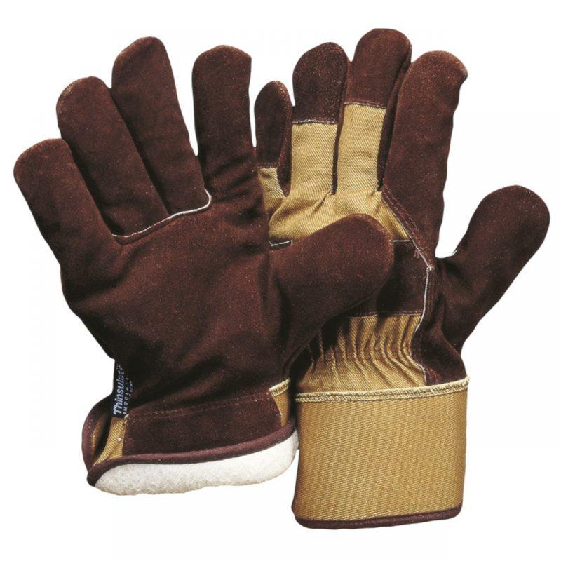 Winter-Lederhandschuhe