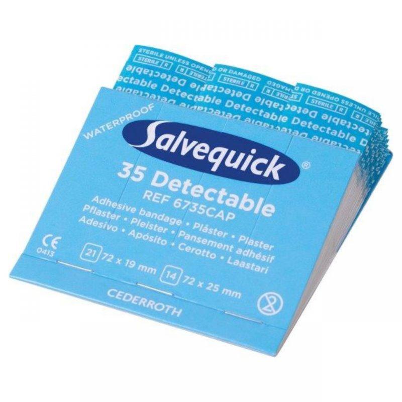 Salvequick 35 Pflasterstrips