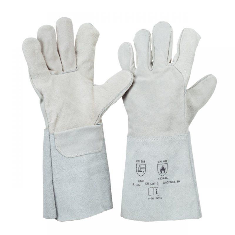 5 Finger Schweißerhandschuh Spaltleder