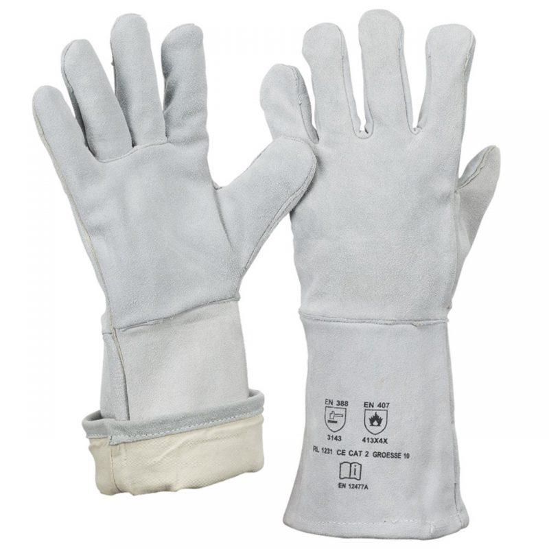 Schweißer Handschuh Spaltleder