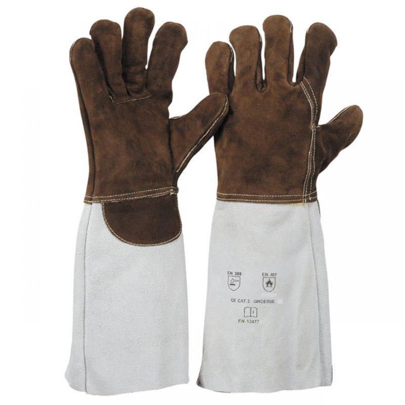 Sebatanleder Schweißer Handschuh