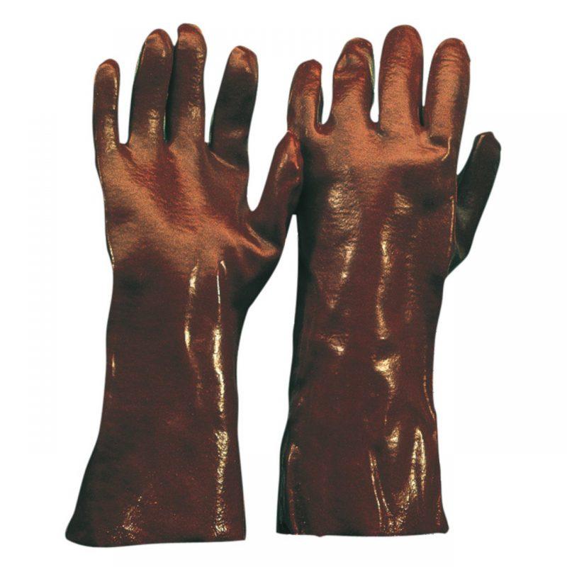 Chemikalien Schutzhandschuh PVC 27cm