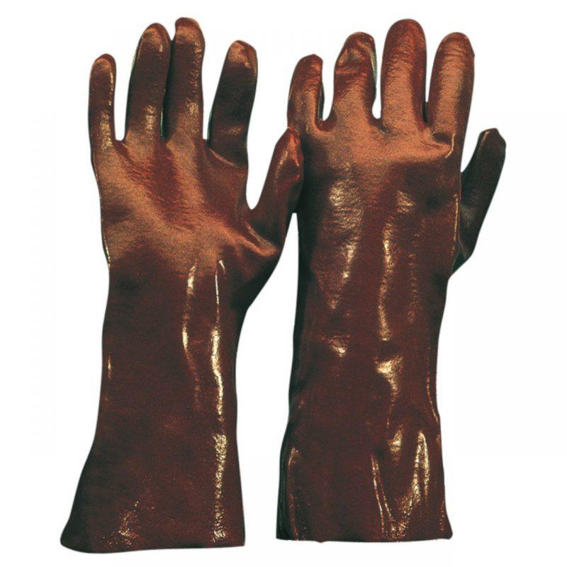 Chemikalien Schutzhandschuh PVC 45 cm