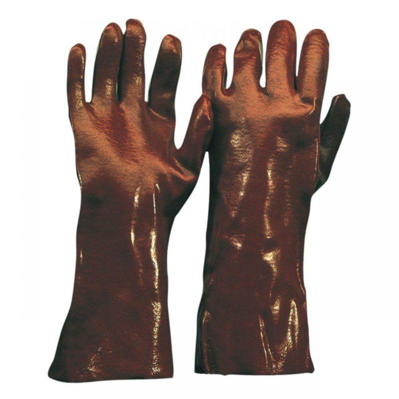 Chemikalien Schutzhandschuh PVC 58 cm