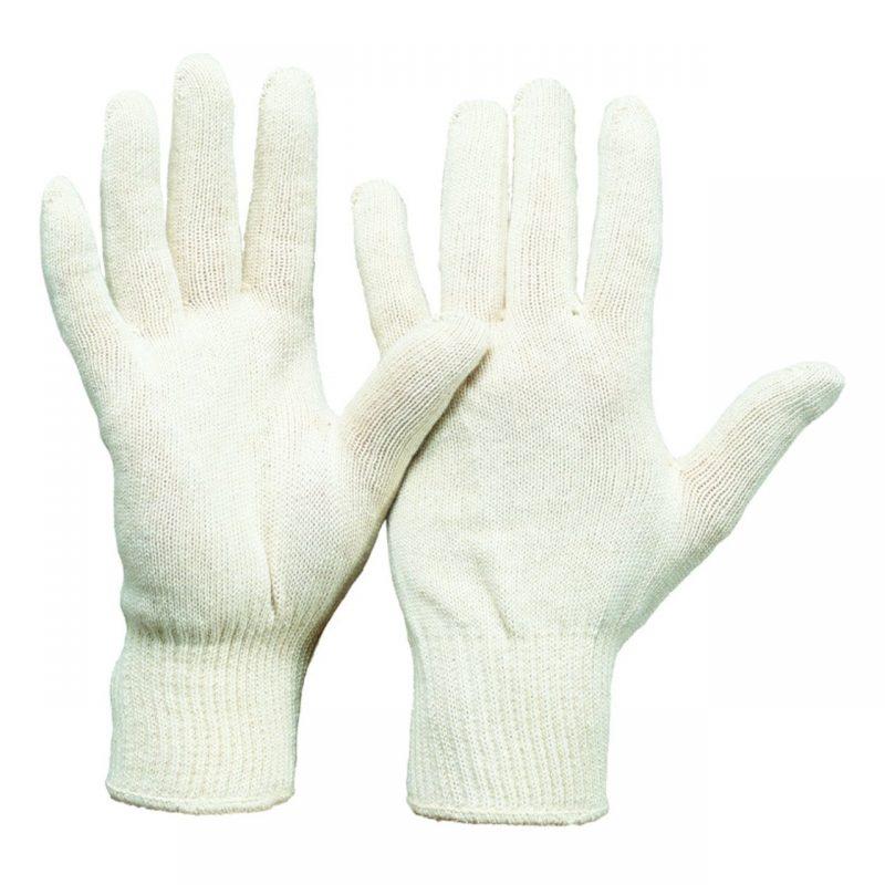 Baumwoll Feinstrick Handschuh Damengröße