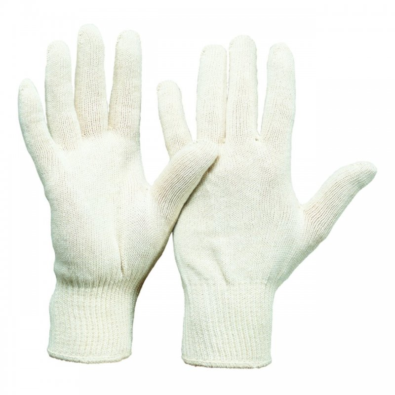 Baumwoll Feinstrick Handschuh Herrengröße