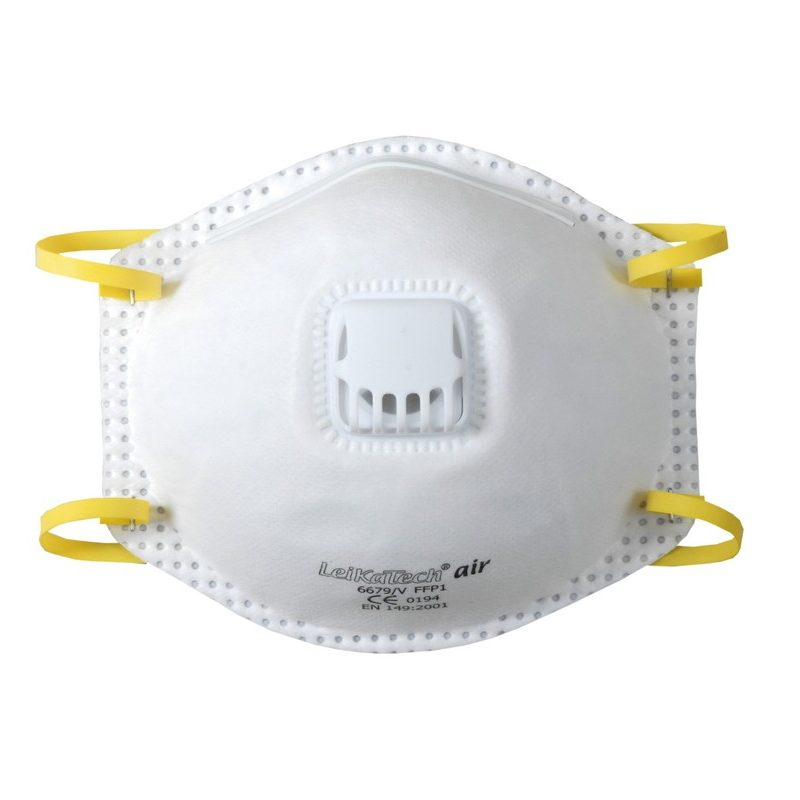 FFP 1 Schutzmaske mit Ausatemventil