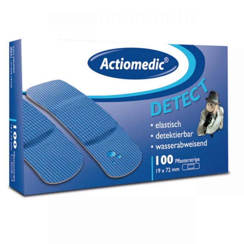 Actiomedic DETECT wasserabweisende Pflaster Strips