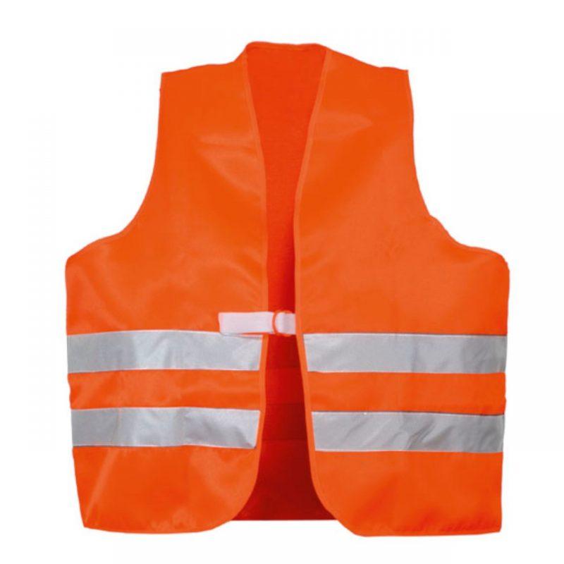Warnweste Orange PVC