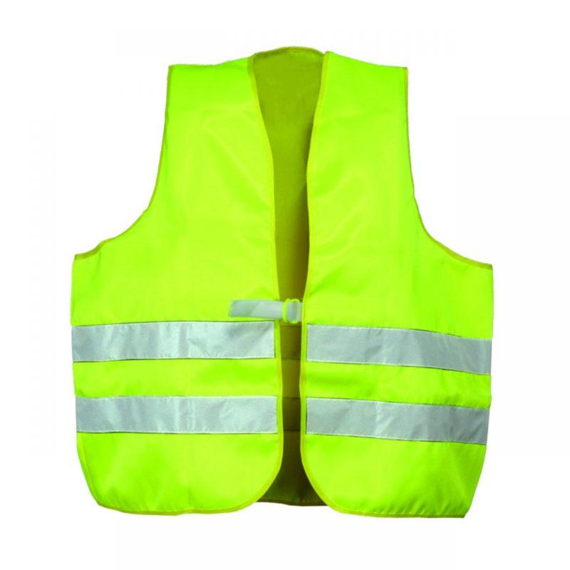 Warnschutzweste Polyester gelb