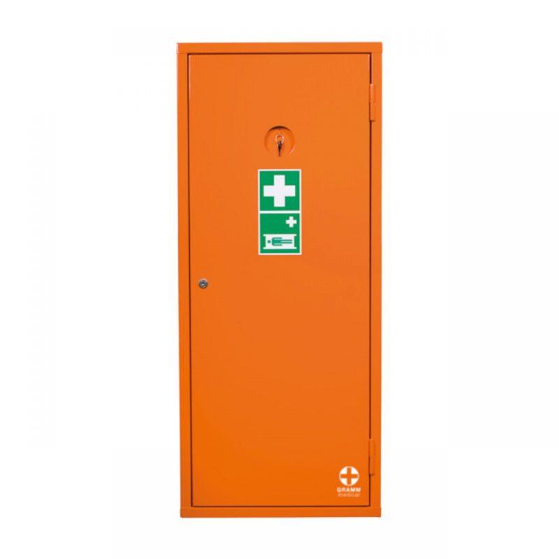Sanitätsschrank K orange