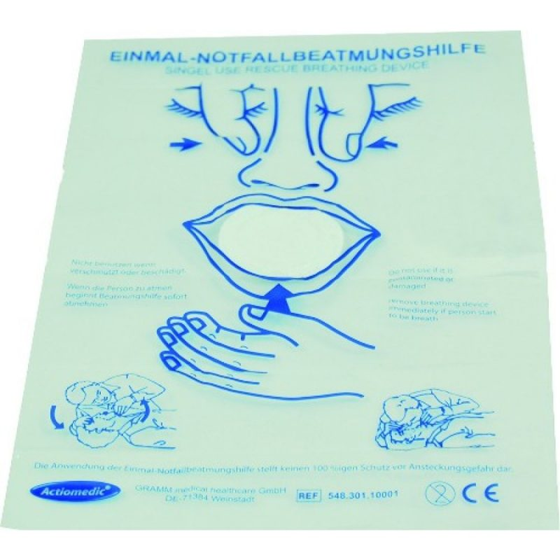 Actiomedic Medi Save Notfall Beatmungstuch