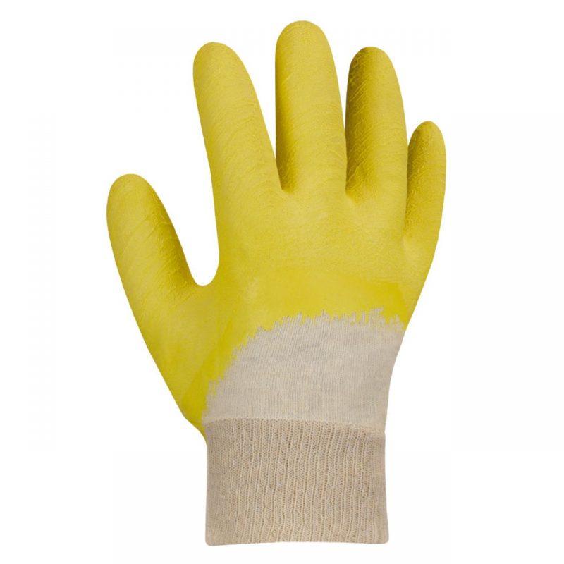 Latex Strickbund Handschuh