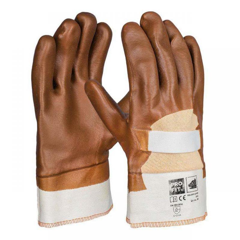 PVC Handschuh Golden Sand