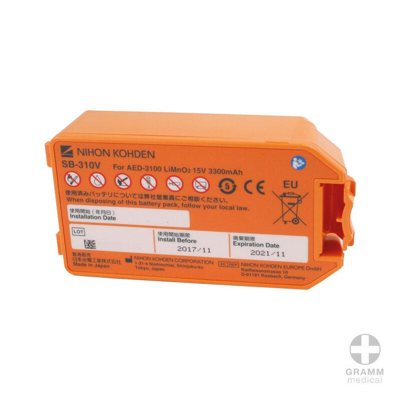 Defibrillator Ersatz Batterie