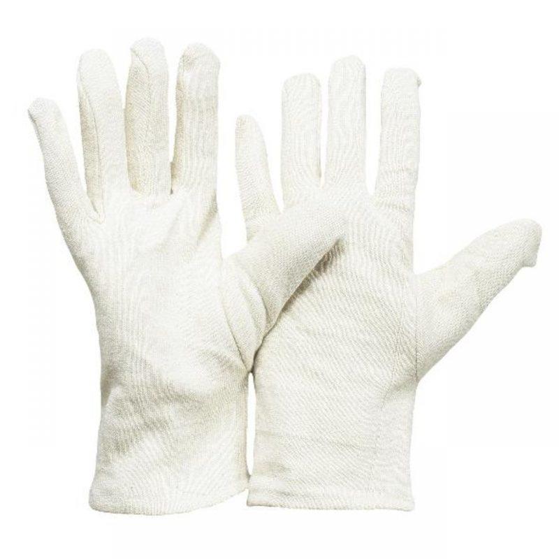 Baumwoll Jersey Handschuh schwere Ausführung