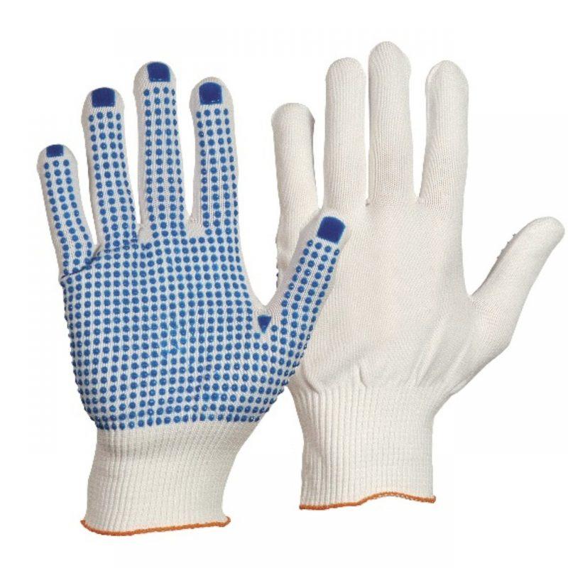 Nylon Feinstrick Handschuh mit Noppen
