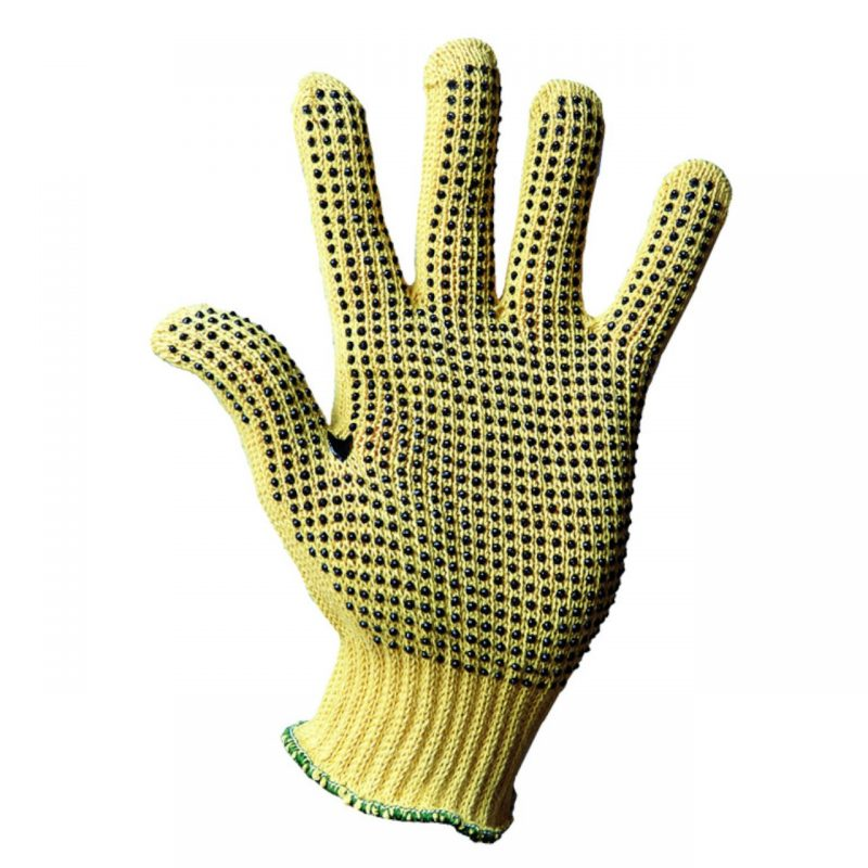 Kevlar Handschuh mit einseitigen Noppen