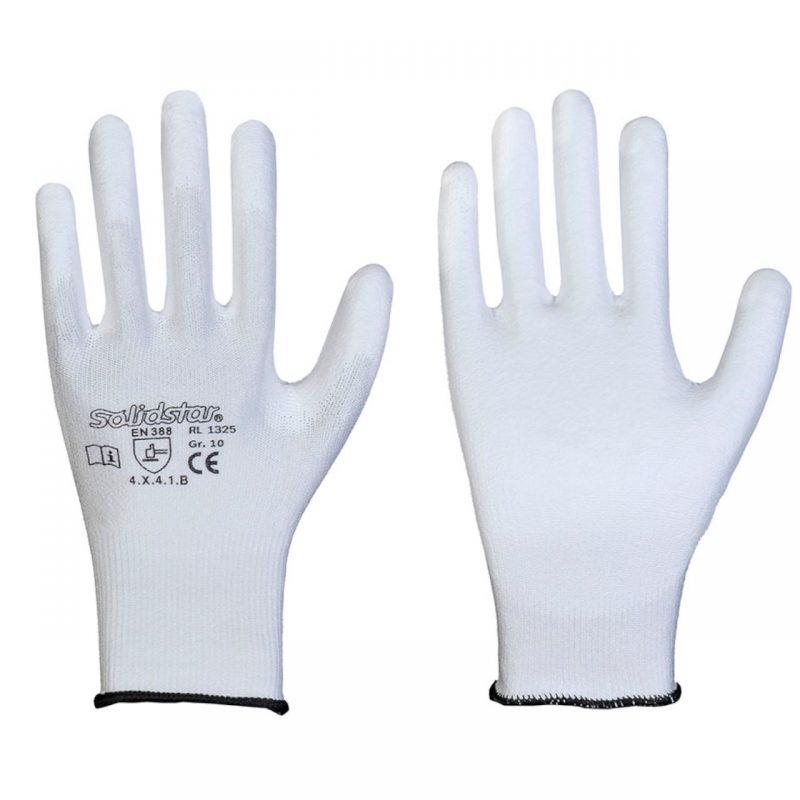 Schnittschutzhandschuh mit PU Beschichtung