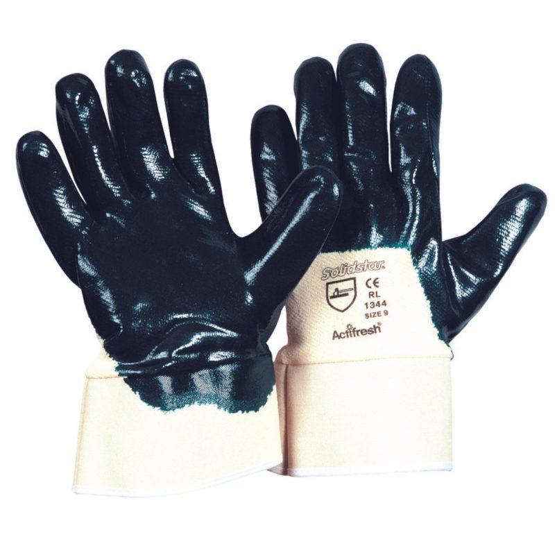 TOP Nitril Handschuh blau
