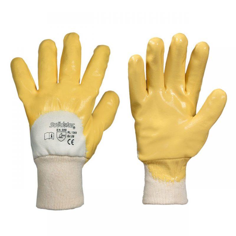 Winterhandschuh Nitril gelb
