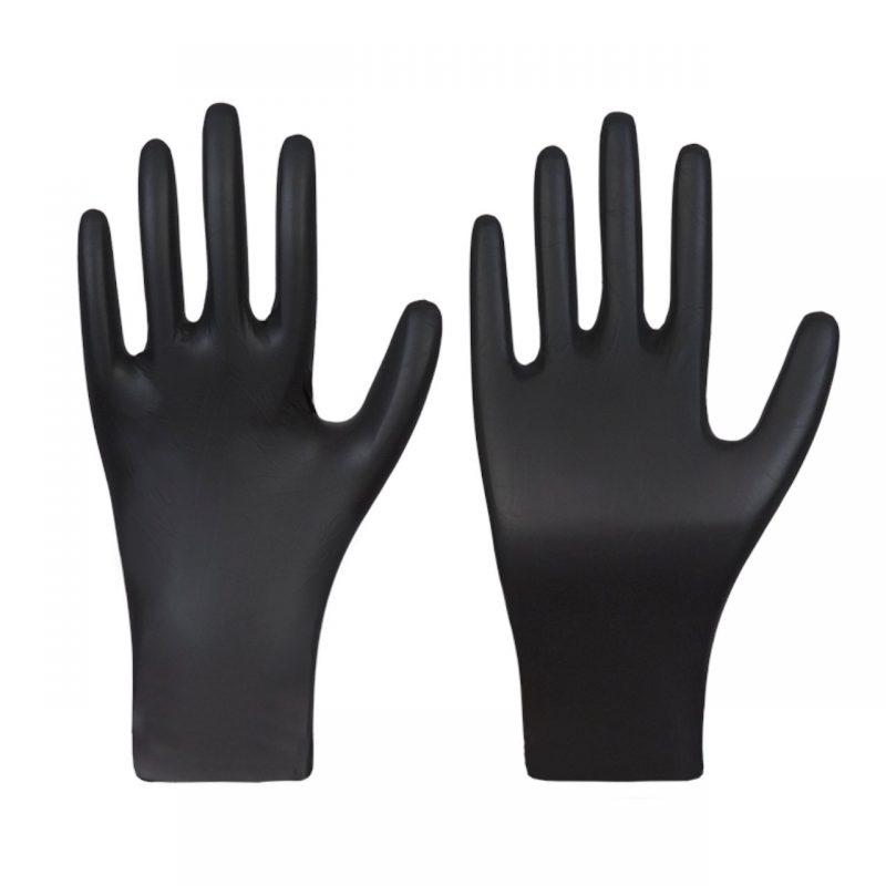 Nitril Einmalhandschuh BLACK