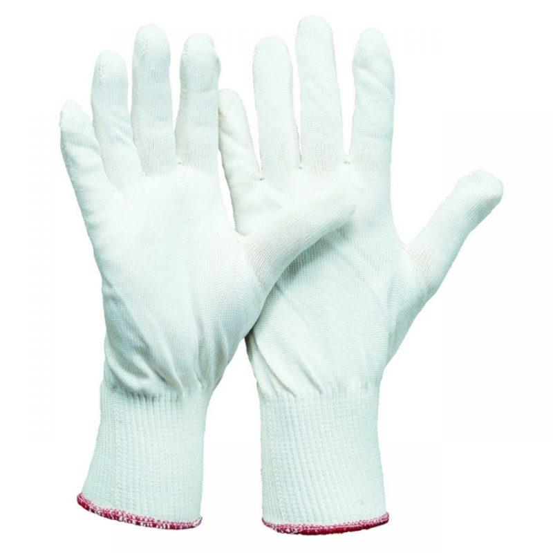 Feinstrick Montage Handschuh ohne Noppen