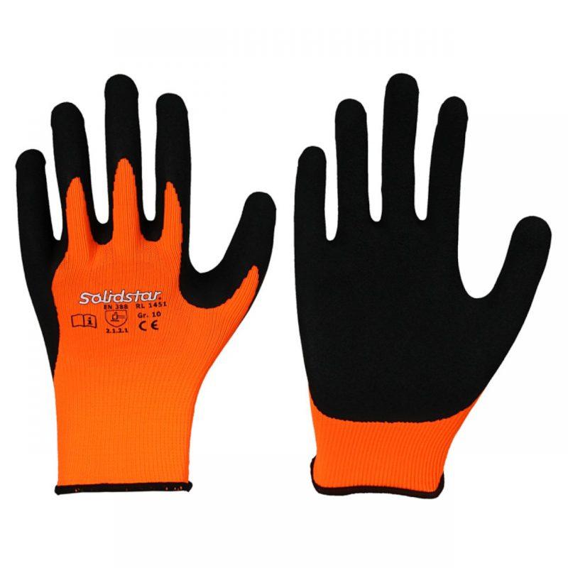 Elastischer Feinstrick Handschuh