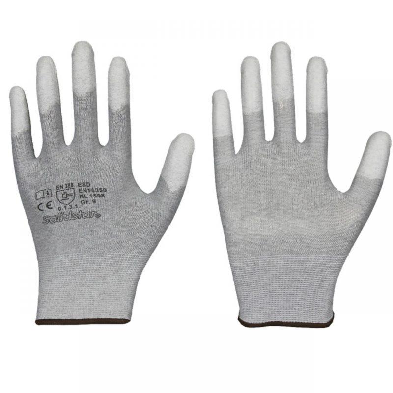 ESD Antistatik Handschuhe Fingerkuppen