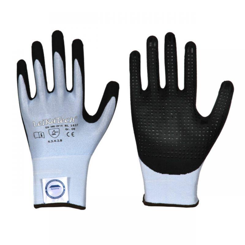Schnittschutz Handschuh mit Nitril Beschichtung und Noppen