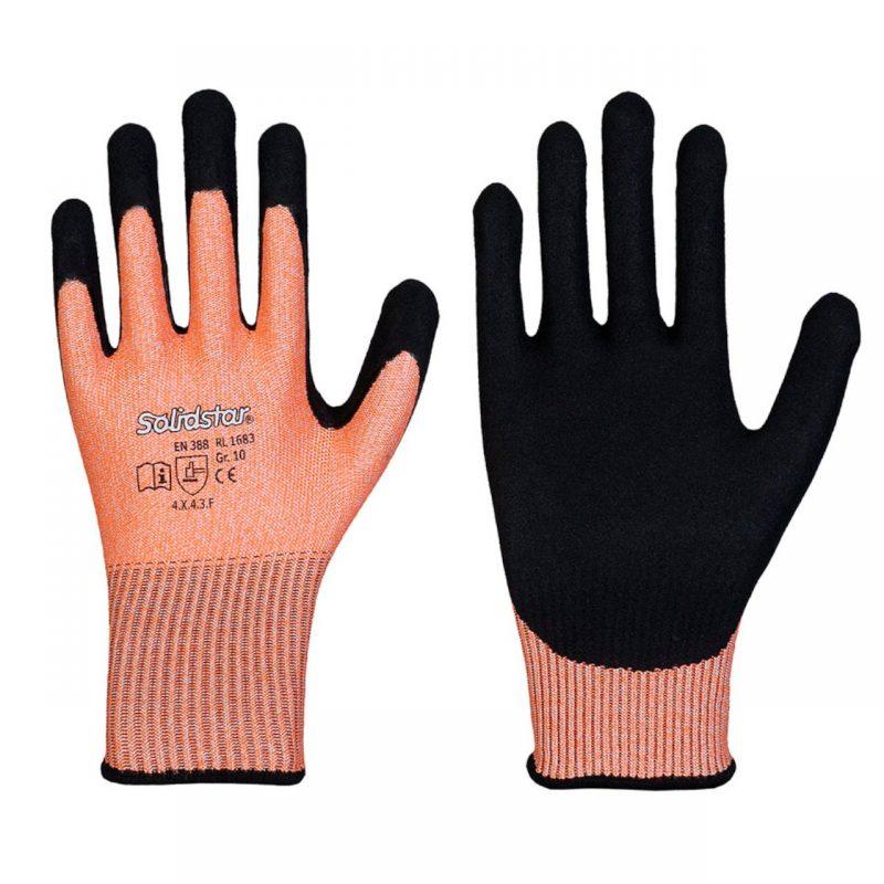 Schnittschutzlevel F Handschuh