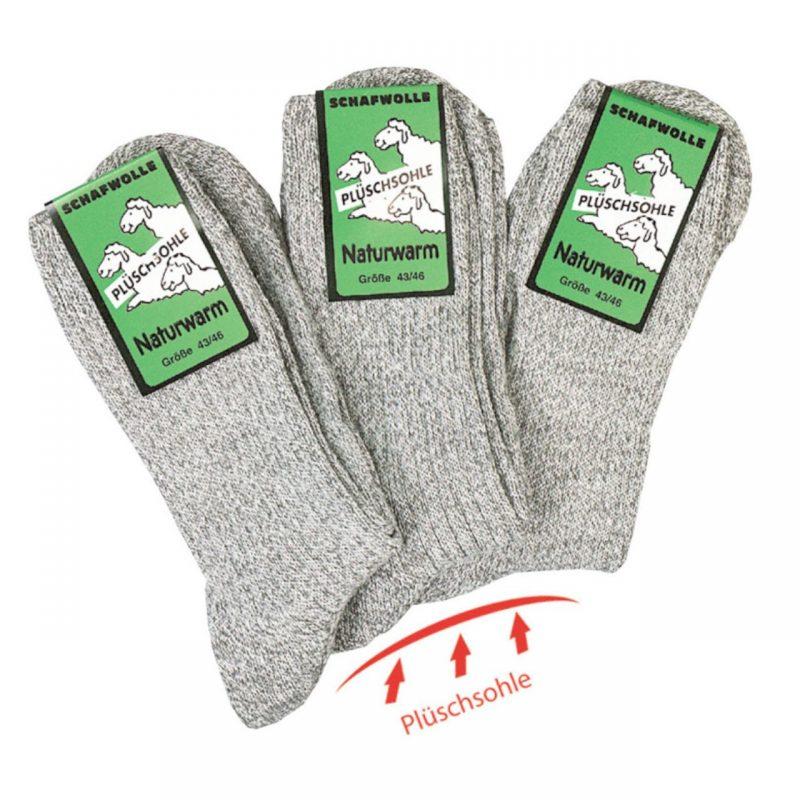 Plüschsohle Socken