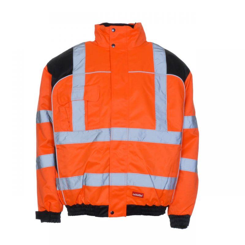 Warnschutzjacke orange schwarz