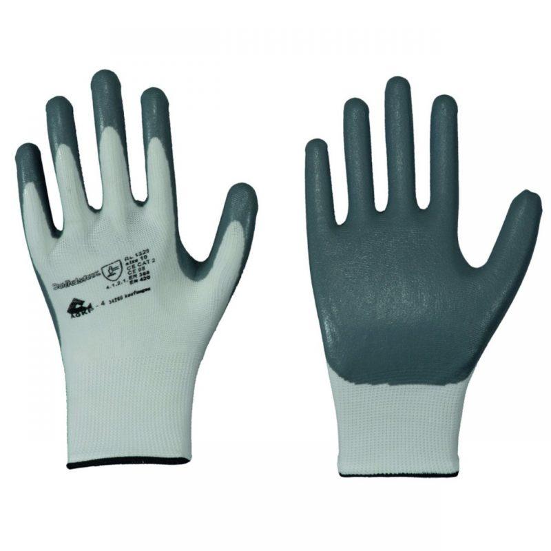 Nylon Feinstrick Handschuh mit Nitril