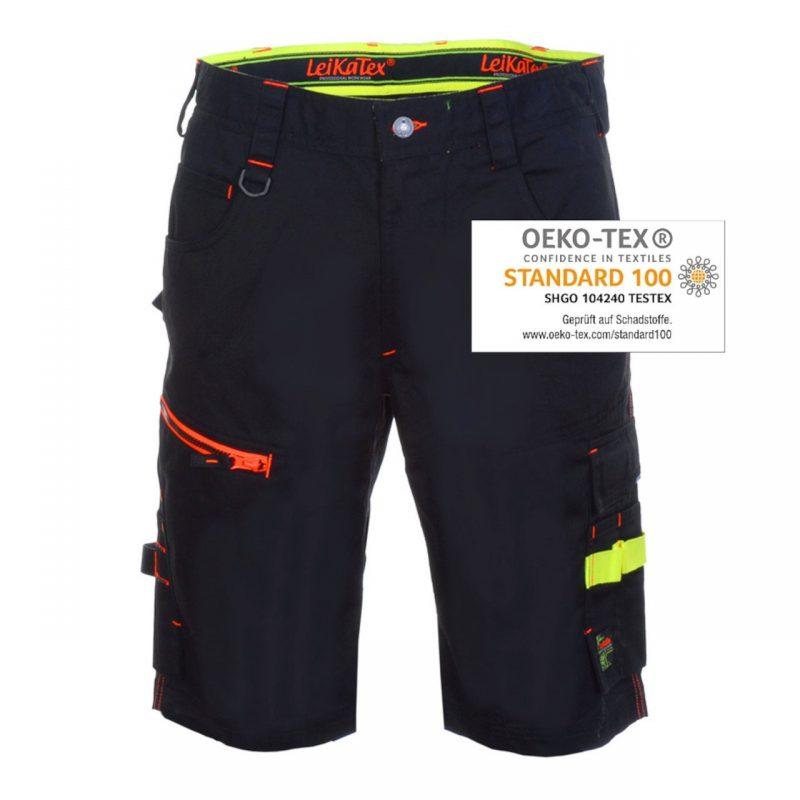 Black Line Shorts