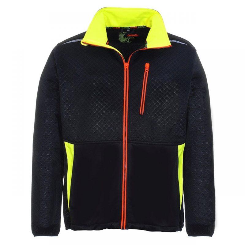 Black Line Fleece Jacke
