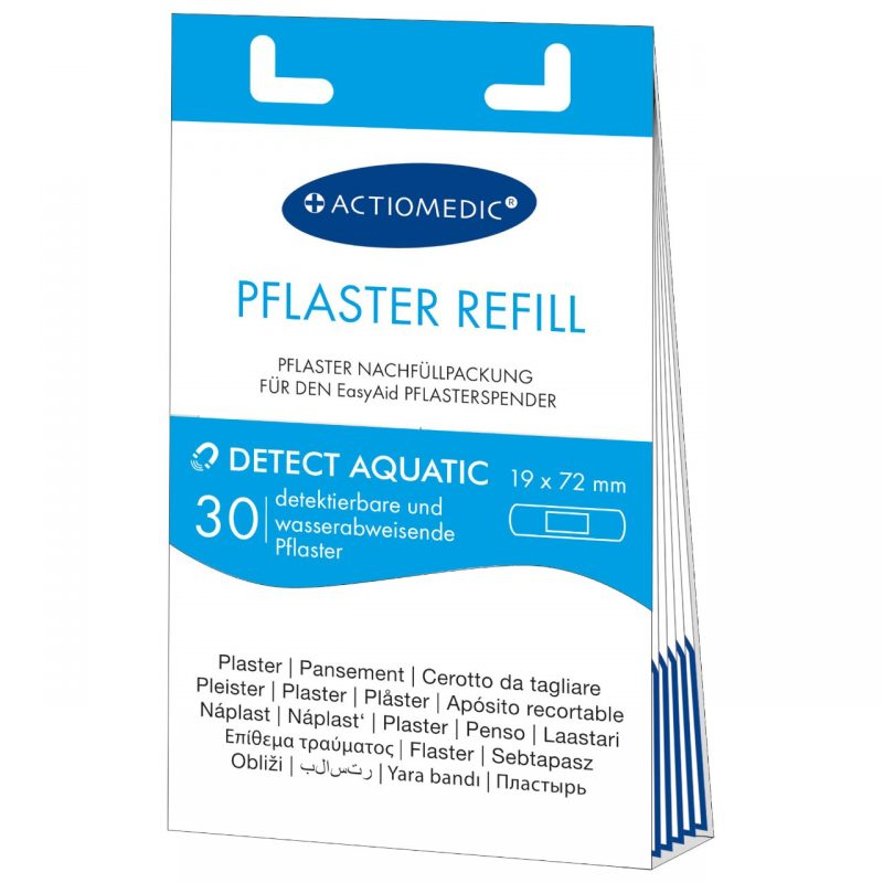 Detect Aquatic Pflasterstrips
