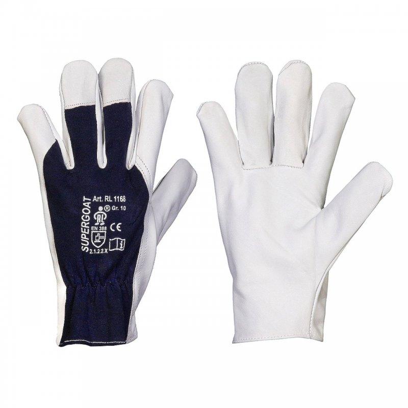 TOP Ziegennappaleder Montage Handschuh