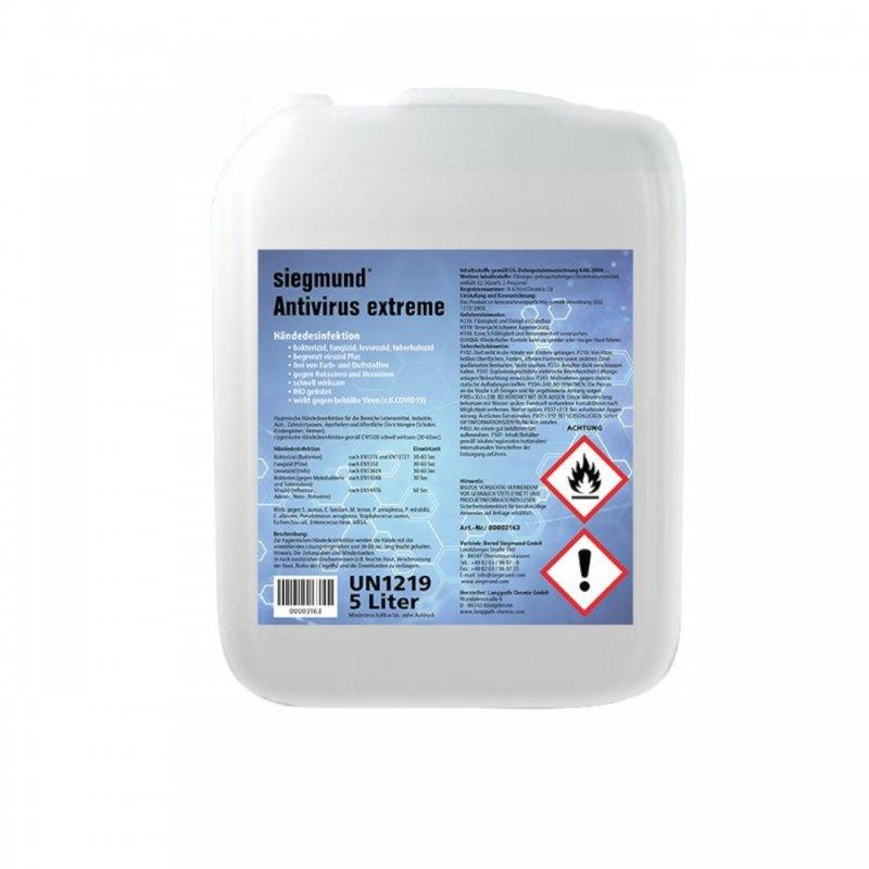 Handdesinfektionsmittel 5 Liter